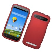 Insten Hard Rubber Cover Case For ZTE Warp Sync - Red