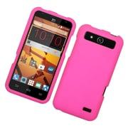 Insten Hard Rubber Case For ZTE Speed - Hot Pink