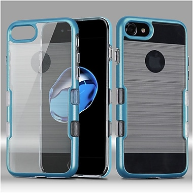 Insten Hard Dual Layer TPU Case For Apple iPhone 7 - Blue