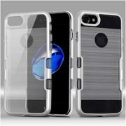 Insten Hard Hybrid TPU Cover Case For Apple iPhone 7 - White