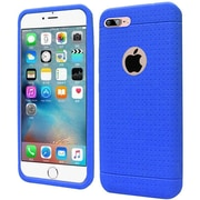 Insten Rugged Silicone Rubber Case For Apple iPhone 7 Plus - Blue