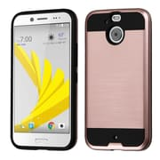 Insten Hard Hybrid TPU Cover Case For HTC Bolt - Rose Gold/Black