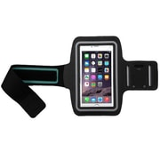 Insten Black Adjustable Armband Sportband Key Holder Pouch for iPhone 6s 6 Plus SE Samsung Galaxy S7 S6 Edge Note 5 Cell