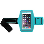 Insten Blue Adjustable Armband Sportband Key Holder Pouch for iPhone 6s 6 Plus SE Samsung Galaxy Note 5 LG K7 Tribute 5