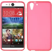 Insten Rubber Cover Case For HTC Desire Eye - Hot Pink