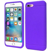 Insten Rugged Silicone Rubber Case For Apple iPhone 7 - Purple