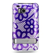 Insten Hard Case w/stand For HTC ThunderBolt 4G - Purple/White