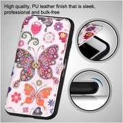 Insten Book-Style Leather Fabric Cover Case w/stand/Diamond For Apple iPhone 7 Plus - Colorful