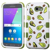 Insten Pits-Summer Fruit/Olive Green TUFF Hybrid Case [Military-Grade] For Samsung Galaxy Express Prime 2 / J3 (2017)
