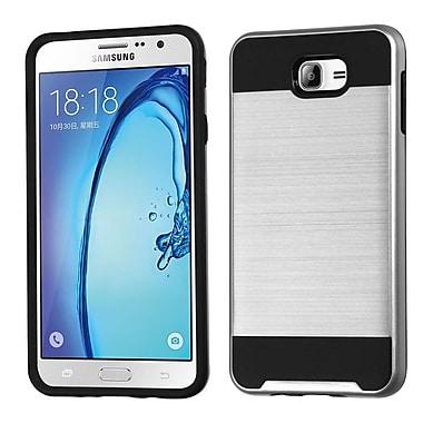 Insten Hard Dual Layer TPU Case For Samsung Galaxy On7 (2016) - Silver/Black