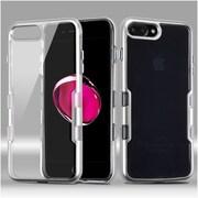 Insten Tuff Hard Hybrid TPU Case For Apple iPhone 7 Plus - Silver