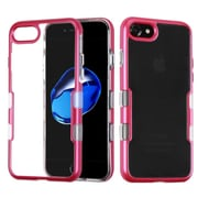 Insten Tuff Hard Dual Layer TPU Cover Case For Apple iPhone 7 - Red