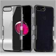 Insten Tuff Hard Hybrid TPU Case For Apple iPhone 7 Plus - Black
