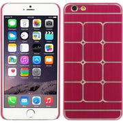 Insten Hard Rubber Case for Apple iPhone 6s Plus / 6 Plus - Hot Pink