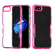 Insten Tuff Hard Dual Layer TPU Cover Case For Apple iPhone 7 - Hot Pink