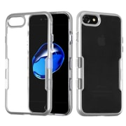 Insten Tuff Hard Dual Layer TPU Case For Apple iPhone 7 - Silver
