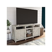 """kathy ireland® Home by Bush Furniture Cottage Grove TV Stand, Cottage White, Screens up to 70"""" (CGV165CWH-03)"""
