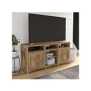 """kathy ireland® Home by Bush Furniture Cottage Grove TV Stand, Reclaimed Pine, Screens up to 70"""" (CGV165RCP-03)"""