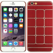 Insten Hard Rubber Coated Cover Case for Apple iPhone 6s Plus / 6 Plus - Red