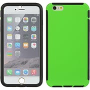 Insten Full Protection Trim TPU Rubber Skin Gel Case For Apple iPhone 6s Plus / 6 Plus - Green