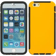 Insten Full Protection Trim TPU Rubber Skin Gel Case For Apple iPhone 6 / 6s - Yellow