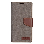 Insten Leather Wallet Case with Photo Display & Card Slot For Samsung Galaxy S7 Edge - Brown