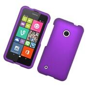 Insten Hard Rubber Cover Case For Nokia Lumia 530 - Purple