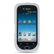 Insten Premium TPU Rubber Skin Gel Back Shell Case Cover For Samsung Exhibit 4G T759 - White