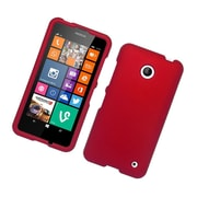 Insten Hard Rubber Coated Case For Nokia Lumia 630/635 - Red