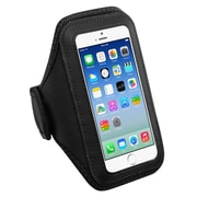 Insten Black Sports Running Jogging Gym Exercise Armband Case for iPhone 7 6 6S / Samsung Galaxy S6 & Edge / Nexus 5