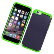 Insten Hard Hybrid Silicone Cover Case For Apple iPhone 6/6s - Green/Blue