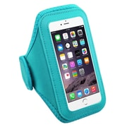 Insten Baby Blue Workout Gym Pouch Armband Phone Holder Case For iPhone 7 6 6S / Galaxy S7 Running Gym Jogging Sportband