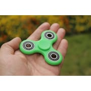10 Pack Premium Fidget Spinner Anti Stress Toy For ADHD Increases Focus - Green