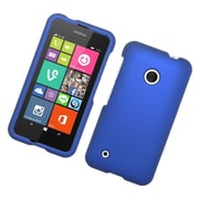 Insten Hard Rubber Coated Case For Nokia Lumia 530 - Blue