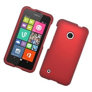 Insten Hard Rubber Coated Cover Case For Nokia Lumia 530 - Red