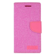 Insten Leather Wallet Cover Case with Photo Display & Card Slot For Kyocera Hydro Wave - Pink