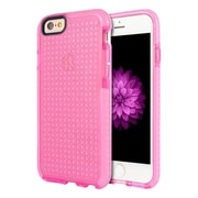 Insten Contempo Series Anti-Shock Tinted Inner Boarder TPU Rubber Case For Apple iPhone 6 / 6s - Pink