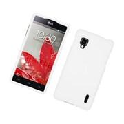 Insten Hard Rubber Case For LG Optimus G LS970 Sprint - White