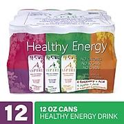 Aspire Variety Energy Drink, 12 oz., 12/Box (220-01088)