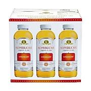 GT'S Organic Raw Kombucha Gingerade, 16 oz., 6/Box (902-00098)