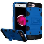 Insten Storm Tank Hybrid Hard/TPU Protective Case For Apple iPhone 7 Plus / 6s Plus / 6 Plus - Blue/Black