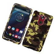 Insten Camouflage Hard Case Cover For Motorola Droid Turbo - Brown