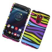 Insten Zebra Hard Case Cover For Motorola Droid Turbo - Colorful