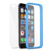 Insten Book TPU Case For Apple iPhone 6s Plus / 6 Plus - Clear/Blue