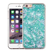 Insten Hearts Green Quicksand Glitter Hybrid Hard/TPU Protective Case Cover For Apple iPhone 6s Plus / 6 Plus
