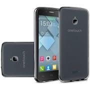 Insten Gel Cover Case For Alcatel Acquire / Dawn / Streak - Black