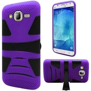 Insten Hard Dual Layer Case with stand For Samsung Galaxy J7 (2015) - Purple/Black