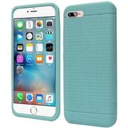 Insten Rugged Gel Rubber Case For Apple iPhone 7 - Teal