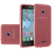 Insten Gel Cover Case For Alcatel Acquire / Dawn / Streak - Red