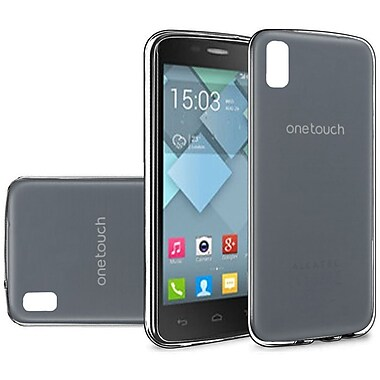 Insten Rubber Cover Case For Alcatel One Touch Idol 4 - Black